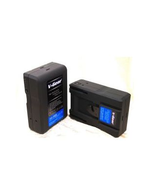 V-Gear VG-130S V-Mount 14.8V, 130Wh Li-ion Rechargeable Battery (4.5 hours)