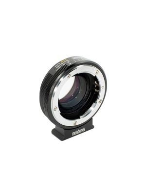 Metabones Speed Booster Adaptor - Nikon G to Micro Four Thirds ULTRA 0.71x (Black Matt)