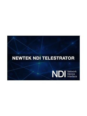 NewTek NDI Telestrator Software (Coupon Code)