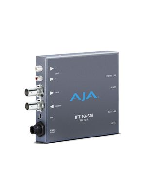 AJA IPT-1G-SDI: 3G-SDI to JPEG 2000/SDI IP Video and Audio Encoder