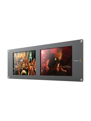 Blackmagic SmartView Duo 2 LCD Rack Monitor