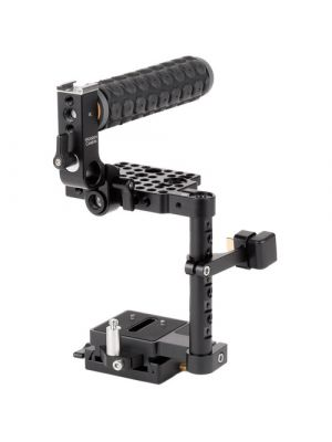 Wooden Camera Unified BMPCC4K/BMPCC6K Camera Cage (Rubber Handle)