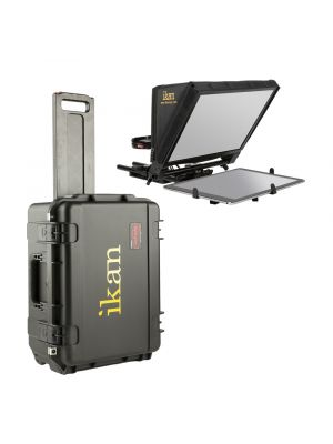 Ikan PT-ELITE-PRO-TK Teleprompter Travel Kit w/ Rolling Hard Case