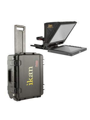 Ikan PT1200-TK Teleprompter Travel Kit w/ Rolling Hard Case