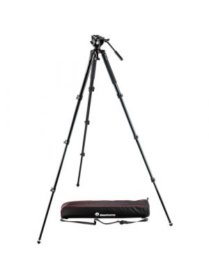 Manfrotto MVK500AQ Spreaderless Video Tripod with MVH500A Fluid Head