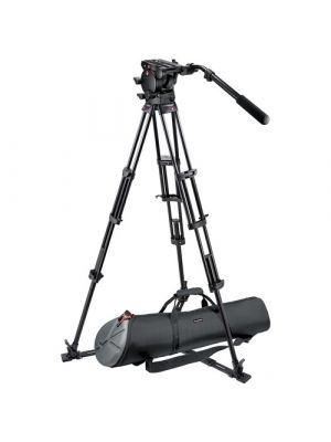 Manfrotto 526,545GBK Professional Video Tripod System with 526 Head