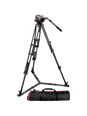 Manfrotto 504HD Head w/546GB 2-Stage Aluminum Tripod System