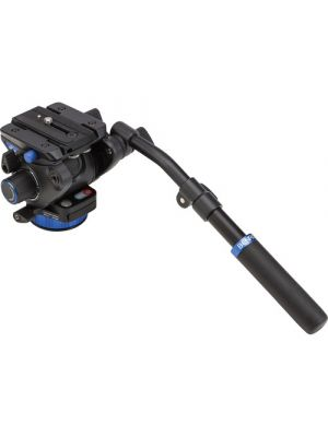 Benro S7 - 7Kg Video Head (Stepped - 0, 2.5Kg, 4.5Kg, 7Kg) [+90°/-50° Tilt Range] with Pan Drag