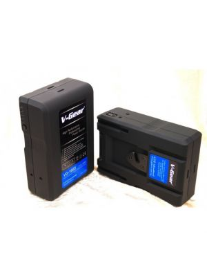 V-Gear VG-160S V-Mount 14.8V, 160Wh Li-ion Rechargeable Battery (5.6 hours)