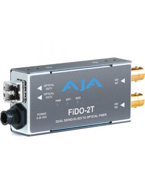 AJA 1-Channel Multi-Mode LC Fiber to 3G-SDI Receiver