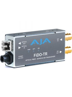 AJA 1-Channel 3G-SDI/LC Multi-Mode LC Fiber Transceiver