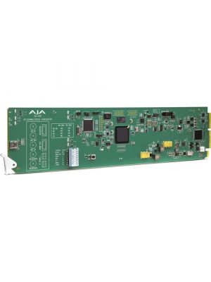 AJA AJA-OG-UDC 3G-SDI Up/Down/Cross-Converter, 2-Channels Unbalanced Audio Output, DashBoard Support