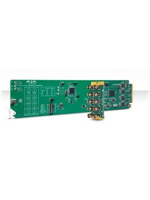 AJA OG-3G-AMD OpenGear 3G-SDI 8-Channel 24-bit AES Embedder/Disembedder with DashBoard Support