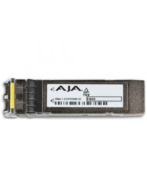 AJA FiberLC-2TX-12G 12G/6G-SDI Dual Fiber Single-Mode LC Transmitter (for use with FS4)