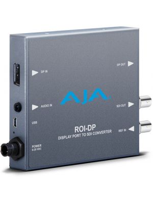 AJA DisplayPort to SDI Converter with Region of Interest Scaler and DP Loop Through