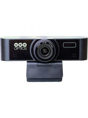 PTZOptics 1080p Webcam 80 with 80° Field of View and Built-In Microphone Array
