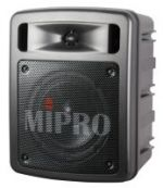MIPRO MA303DB-5 Portable PA, 60 Watts with Bluetooth audio player, USB Music Player/Recorder and Dual Wireless Mic Receivers with Auto Scan and ACT Sync.
