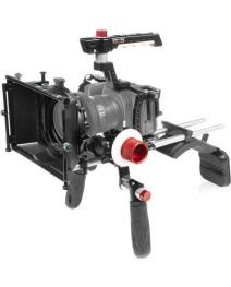 Shape Shoulder Mount, Matte Box, Follow Focus Kit for Blackmagic Pocket Cinema Camera 4K