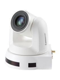 LUMENS VC-A50PW PTZ Camera • 20x Optical Zoom • IP/3GSDI/HDMI Output (White)