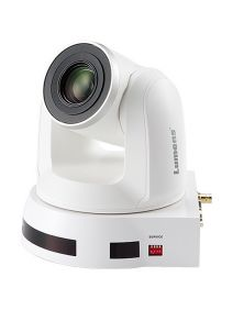 LUMENS VC-A60SW PTZ Camera • 30x Optical Zoom • 3GSDI/DVI Output (White)