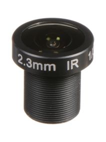 Marshall Electronics 3MP2.3mm f/2.2 M12 Lens with approx 126° AOV (CV-4702.3-3MP)
