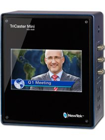 NewTek TriCaster Mini Advanced HD-4 SDI (w/ Integrated Display and 2 Internal Drives)