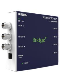Digital Forecast Bridge 1000 SD-6 3G/HD/SD SDI and ASI Video Distribution Amplifier with Reclocking (1 input / 6 outputs)