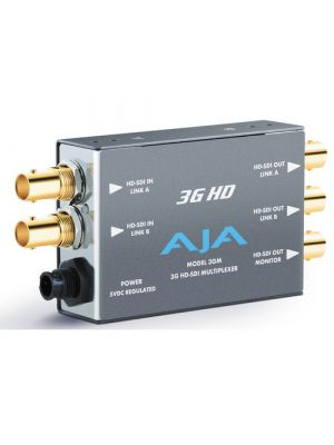 AJA 3GM 3G/1.5G HD-SDI Multiplexer with Power Supply