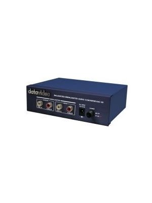 Datavideo BAC-03 Balanced Unbalanced Audio Converter