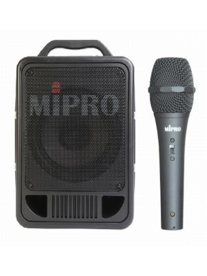 MIPRO MA705PA 70W PA System with Corded Handheld Microphone (No Receiver)