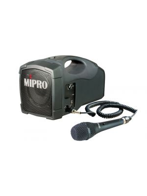 MIPRO MA101PA 45W PA System with Corded Handheld Microphone (No Receiver)