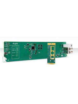 AJA OG-FiDO-TR-MM OpenGear 1-Channel 3G-SDI/LC Multi-Mode LC Fiber Transceiver with DashBoard Support