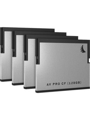 Angelbird 128GB AVpro CFast 2.0 Card  (4 Pack)