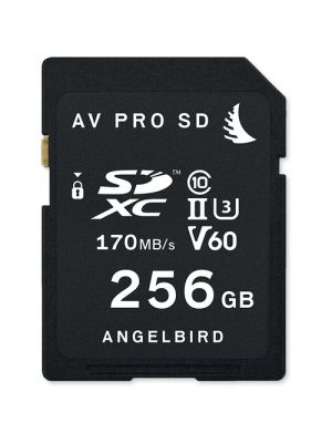 Angelbird 256GB V60 AVpro SD Card