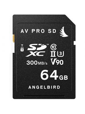 Angelbird 2 x 64GB Matched SD Cards for Panasonic GH5/GH5S