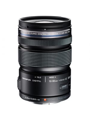 Olympus M.Zuiko Digital ED 12-50mm f/3.5-6.3 EZ MFT Lens (Black)