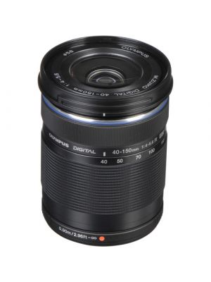 Olympus M.Zuiko Digital ED 40-150mm f/4-5.6 R MFT Lens (Black)