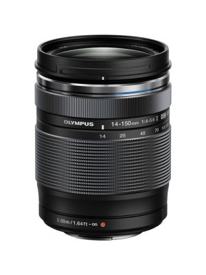 Olympus M.Zuiko Digital ED 14-150mm f/4-5.6 II MFT Lens (Black)