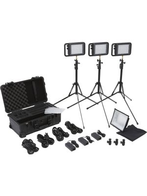 Litepanels Lykos Trio Traveler Kit
