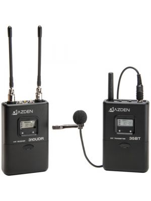 Azden 310LT UHF On-Camera Lapel System
