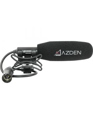 Azden SGM-250CX Compact Shotgun Microphone - with Standard XLR Connector