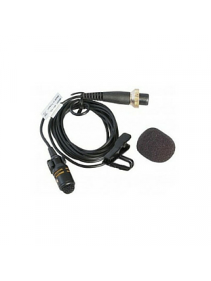 MIPRO MU53L Cardioid Lapel Microphone • Black 10mm Capsule • 142dB SPL • 46dBV Sensitivity • 19g