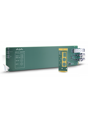 AJA OG-FIBER-TR-MM 3G-SDI Multi-Mode OpenGear Compatible Transceiver