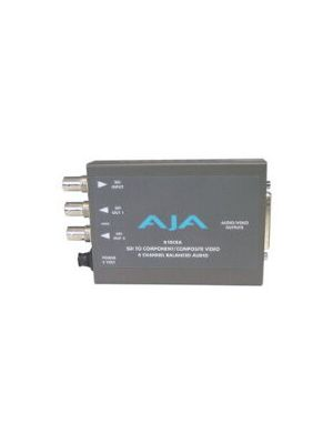 AJA D10CEA SDI 10-bit to Analog Audio and Video Converter with Power Supply
