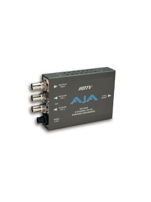 AJA HD10AMA HD/SD-SDI 4-Channel Analog Audio Embedder/Disembedder with Power Supply