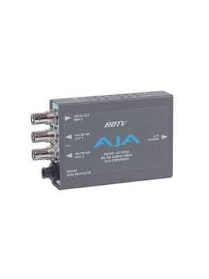 AJA HD10CEA HD/SD-SDI to Analog Audio/Video Converter, 10-bit with Power Supply