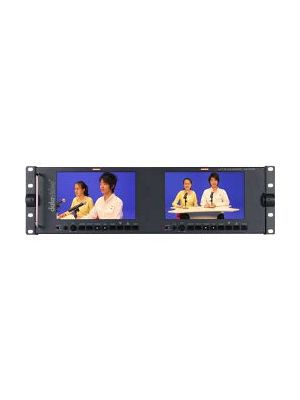 Datavideo TLM-702HD, 7 inch 16:9 Dual Monitor with HD-SDI / SDI, HDMI, HD / SD Component and Composite