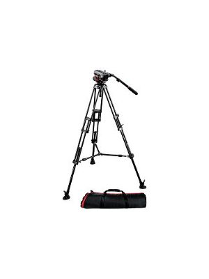 Manfrotto 504HD-546BK Pro DV Tripod Kit