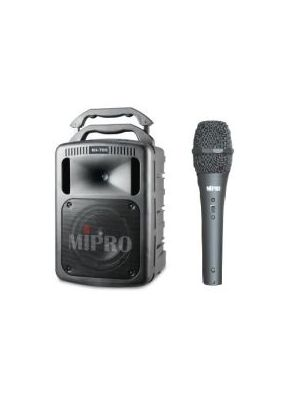 MIPRO MA708PAB 265W PA System with Corded Handheld Microphone (No Receiver)