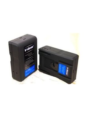 V-Gear VG-190S V-Mount 14.8V, 190W Li-ion Rechargeable Battery (6.6 hours)